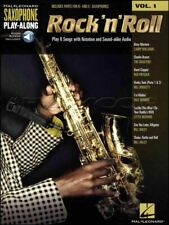 Rock n Roll Saxophone Play-Along 1 Alto Sax Music Book/Audio SAME DAY DISPATCH