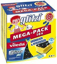 Vileda Glitzi Plus Topfreiniger im Mega-Pack, 4er Pack (4x18 Stück)
