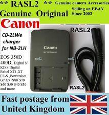 Genuine Original CANON Charger,CB-2LWE NB-2LH EOS Kiss Digital N Rebel XT EF-S