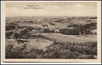 Plauen Vogtland alte Ansichtskarte ~1920/30 Blick vom Bärenstein ungelaufen
