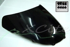 Windscreen BLACK for CBR250RR CBR250 250RR 250 RR MC22 = FREE bolts = #WS1001#