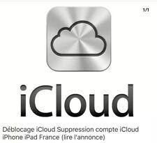 Icloud Unlock Deblocage Clean France 3 5 Day 6 6S 7   iPad Air 1 Apple Officiel