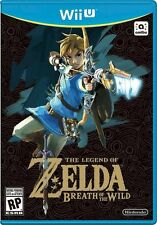 The Legend of Zelda: Breath of the Wild  Nintendo Wii U - FREE 2-DAY SHIPPING!!!