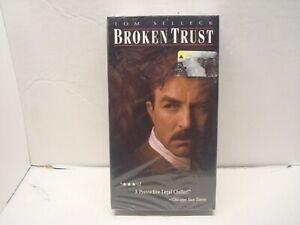 Broken Trust (Tom Selleck) (VHS, 1995) NEW