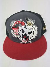 Tokidoki New Era ROYAL PRIDE Lion Pappa Carne TKDK 59Fifty Fitted Cap Hat EUC