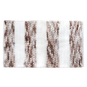Badematte SOFT BALLS beige weiß weiche Duschmatte Badvorleger Duschvorleger
