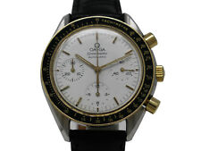 Omega Speedmaster Reduced 175.0032 Automatic 39 mm Steel Gold White Dial No B&P