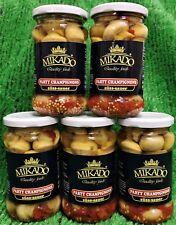 (16,35€/KG) 5x Mikado Party Champignons süss- sauer eingelegt gratis Versand