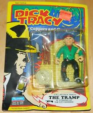 Dick Tracy Movie The Tramp Action Figure Playmates 1990 Moc Wear on Edges