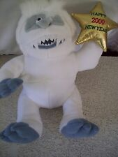 "RUDOLPH (Island of misfits) 11"" Bumble Abominable Snow Monster STUFFINS Plush"