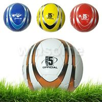Size 5 / 32 Pannel PU Leather Stitched Football Soccer Ball Beach Ball