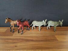 AAA Plastic Farm Animal Bundle Horses and Donkeys