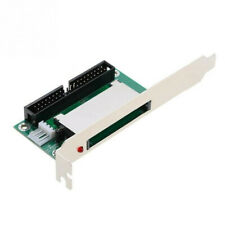 Bootable 40-Pin CF To IDE Adapter Converter Connector Back Panel Accessories