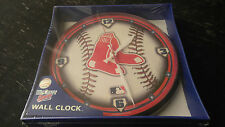 "Boston Red Sox MLB 12"" Round Wall Clock"