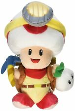 Super Mario Bros. Series Standing Captain Toad Plush Doll Toy 7Inch Great Gift