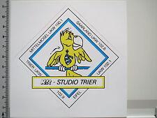 Adesivo sticker RPR-Radio Tele-studio Treviri-RADIO-EIFFEL Mosel (2398)