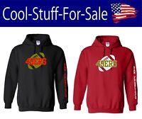 San Francisco 49ers Football Pullover Hooded Sweatshirt