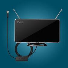 Indoor ANTOP Digital TV HDTV DTV Antenna Amplified Amplifier 40/50 Miles UHF VHF