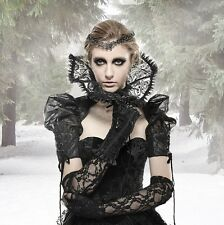 Gothic Steampunk Neo Victorian Vampire Burlesque Bolero Sleeves Punk Rave 34 36