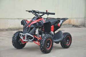 Renegade 50cc Petrol Mini Quad Bike Red Petrol Kids