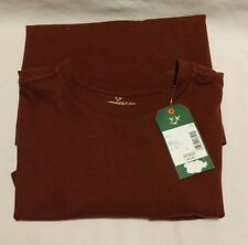 Men's Outdoor Life River Washed Tee Shirt / Size:Small - 100% Cotton - Burgundy