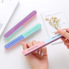 Cosmetic Nail File Buffer Shiner Finger Toe Manicure Pedicure Polishing Sanding