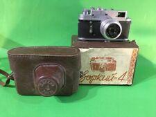 Vintage USSR Zorki 4 film camera 1967