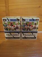 2020 NFL Panini Chronicles Football Blaster Box New Burrow Tua Herbert lot of 2