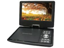 "QFX PDT-309DTV 9"" Portable/Rechargeable Digital TV +DVD Player +USB/SD +Gam"