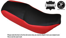 RED & BLACK CUSTOM FITS LIFAN SKYGO LF 125-30 DUAL LEATHER SEAT COVER