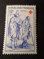 FRANCE 1957 timbre 1140, Croix Rouge, J. Callot, neuf**