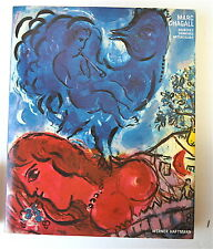 Marc Chagall Signed in Print Gouaches Drawings Watercolors by Haftmann 1984