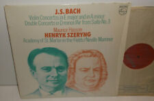 9500 226 JS Bach Violin Concertos Henryk Szeryng Maurice Hasson ASMF Marriner