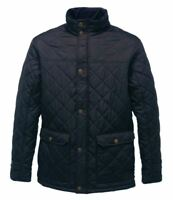 Regatta Mens Diamond Quilted Jacket Coat - Showerproof and Insulated New puffer