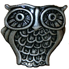 LUCKY BRAND Antique Silver-Tone Owl Ring, Adjustable Size NWT