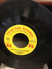 """The Tale of the Tootlebird - Peter Pan Records 45-619 7"""" 45RPM"""