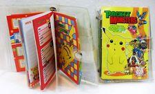 POKEMON Pocket Monsters AGENDA-ORGANIZER cm. 14,5 x 10 Nintendo 1999 originale