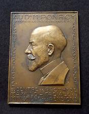 Médaille Au Dr M.PONROY Officier Légion d'Honneur 1937 Ministère des Pensions