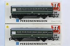 2 Zeuke / Berliner  / Tillig Coaches / Rekowagen / Passenger Cars FREE SHIPPING