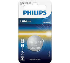Philips Batterie CR2430 AU LITHIUM 3V LOT DE 3