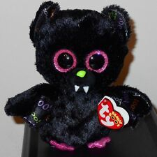 "Ty Beanie Boos ~ DART the 6"" Halloween Bat ~ 2017 NEW with MINT TAGS ~ IN HAND"