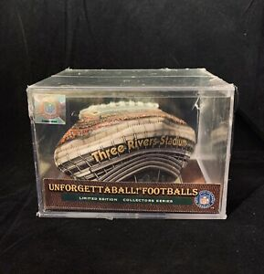 New Authentic NFL Pittsburgh Steelers Three River Stadium Collectors Football
