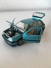 1:43 VW Golf 3 vr6 Coupe Vert SCHABAK oiseau rare.