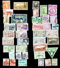 Lot Of 40 Latin America Caribbean Postage Stamps 1920s - 1950s Vintage