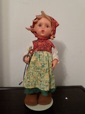 """Goebel Doll 11 7/8"""" Tall Germany Girl Aus Dem Hause with Back Stand"""