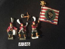 Dogs of War Marksmen of Miragliano command 3 x metal models DOW AOS OOP
