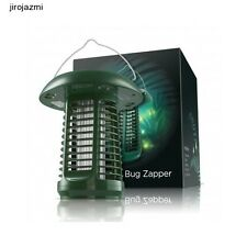 Solar Powered UV Bug Zapper Garden Lamp Insect Mosquito Killer Electronic