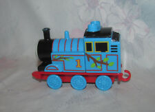 Mega Bloks Thomas Tank Engine Train - Blue with Branches/Leaves