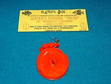 """Vintage/New! SLATER'S FISHING YO-YO """"Fluorescent Orange"""" MADE IN USA @ Reel JIGS"""