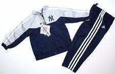 adidas Kleinkinder Jungen blau//grau Trainingsanzug Jogging anzug Altersstufen